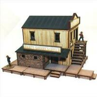 4Ground 28mm Old West Terrain Sherriff's Office (Pre-Painted) Pack New