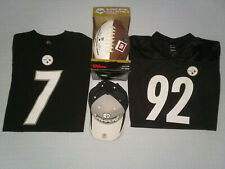 Nfl Pittsburgh Steelers 2009 Super Bowl Xliii Collectible Football Hat Shirt Lot