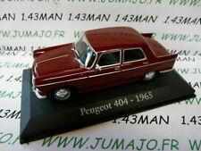 RBA10M Car 1/43 Rba Italy Ixo : Peugeot 404 1965
