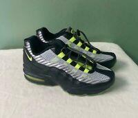 Youth Nike Air Max 95 HZ Black/Volt-Gunsmoke GS BQ4747-001 Size 5Y / Women 6.5