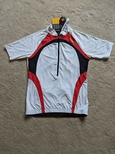 Altura Womens Synergy Short Sleeve Cycling Jersey Size 10 White Road Bike