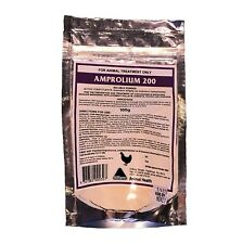 AMPROLIUM 200 100g Coccidiosis FREE POSTAGE (Birds CHOOKS Chickens POULTRY)