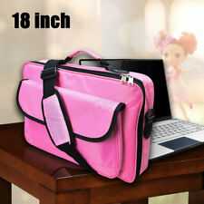 """Pink 18"""" 18.4"""" Inch Laptop Shoulder Messenger Bag for Acer/HP/Dell/Lenovo/Women"""