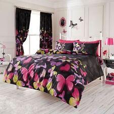 Linge de lit et ensembles noirs modernes pour chambre