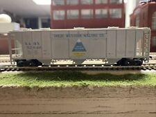 Vintage Con-Cor Ho Scale *Great Western Malt* Ps-3 Bay Covered Hopper