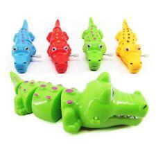 Classic Gifts Crocodile Shape Plastic Toy Clockwork Wind Up Children Kids