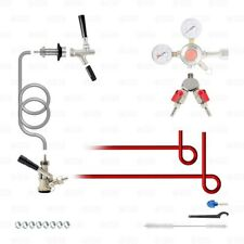 Add A Tap Kit! Add a STAINLESS Sanke D Tap Faucet to a Beer Kegerator or Keezer!