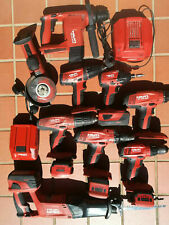 Hilti Cordless Trapano, Trapano, SAW, Grinder, batterie, caricabatterie