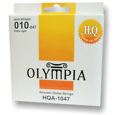 Olympia high quality platinum acoustic guitar strings Gauge 10-47 Extra Light
