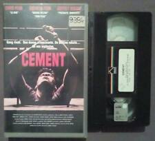 VHS FILM Ita Thriller CEMENT prisma 4725RA chris penn fenn ex nolo no dvd(VH42)