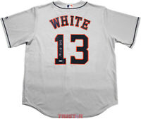 Tyler White Signed Autographed Houston Astros Gray Jersey Great White TRISTAR