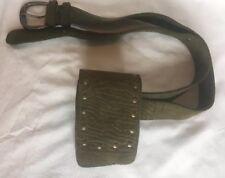 Belt Bag/bum Bag/Festival Bag / Psy Trance/Green Leather