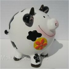 Smiling Cow Coin Piggy Bank -FREE SHIPPING