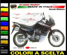 "Kit adesivi fiancate, serbatoio, fianchi sottosella - Honda Transalp ""JP031"""