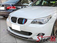 E60 E61 520i 528i 535i 550i M5 Shiny Black BMW /// Tri Front Grille Grill 04-10