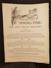 Spring-Time: The Only Pretty Ring-Time - 1897 Advertisement