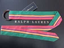 """Polo RALPH LAUREN Rugby Women's """"O"""" Ring Ivy League Belt"""