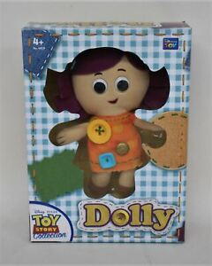 THINKWAY X Disney Pixar Toy Story Collection Dolly Stuffed Toy w Certificate NEW