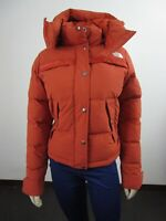 NWT Womens The North Face TNF Forester Crop Jacket 550-Down Winter Jacket Picant