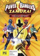 DVD Power Rangers Samurai  Volume 3 - Team Spirit -Region 4