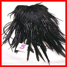 Wapsi Black #1 Premium Saddle Patch Feathers