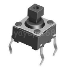 500pcs 4Legs 6x6mm Tact Switch Tactile Switches Microswitch Square Pushbutton