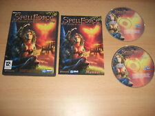 SPELLFORCE 1 sombra del Phoenix Add-On Pack de expansión PC CD ROM hechizo fuerza