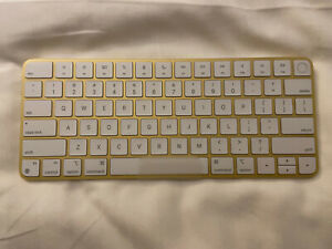 — Apple Magic Keyboard with Touch ID - for M1 iMac - Yellow/Gold - New