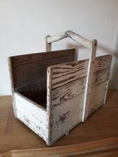 Ancien panier à bûches - Vintage log basket