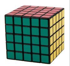 New ShengShou 5x5x5 Speed Ultra smooth Magic Cube Puzzle Twist 5x5 Black Xmas
