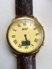 Man's Watch. UK MSF Radio Controlled ANA-DIGIT watch. UNWORN