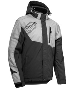 Castle X Snow Jacket Men's Size MD Phase Silver/Charcoal: Ships FREE!!