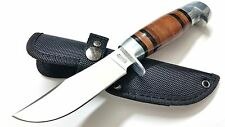 Knife Marbles Fix Blade Hunter, Model MR 248 Leather Wrapped Handle, 1 pc.
