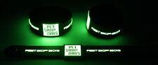 Pet shop boys new! glow in the dark rubber bracelet bracelet GG333