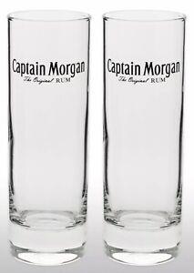Captain Morgan Tall Glass X 2