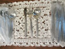 VTG UNITED AIRLINES 13 ~ 3pc SETTINGS OF ABCO SP 570 SILVERWARE ~39pcs~EXCELLENT
