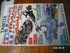 1µ?a Revue Tamiya Model Magazine n°41 M4 Sherman Imperial Speeder Bike 911 GT2