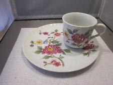 Mann snack plate and cup Windsor Garden