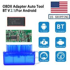 USA Warehouse V2.1 OBD2 Auto Code Reader Scanner BT Car Diagnostic For Android