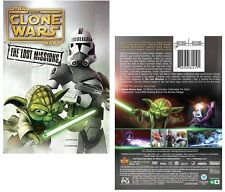 STAR WARS THE CLONE WARS 2014: 6 - LOST MISSIONS TV Season Series - NEW  DVD R1
