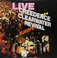 CREEDENCE CLEARWATER REVIVAL Live In Europe CD BRAND NEW