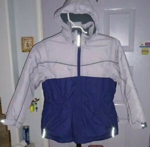 NWOT  PACIFIC TRAIL insulated JACKET  removable  hood   MED 10 / 12