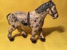 Britains Shire Horse (mi Ref Gris 546) Metal, dañado