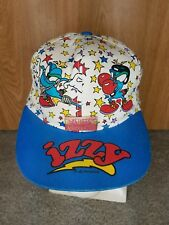Team Usa Olympic IZZY Mascot Snap Back Hat Cap & Pin The Game Official 90's Vtg