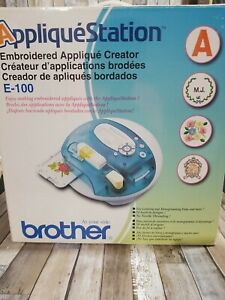 Brother Applique Station E100 Computerized Sewing Machine