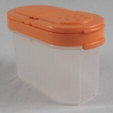 Tupperware A 90 Gewürzzwerg Gewürz Zwerg 120 ml Weiß / Orange Dunkel  Neu