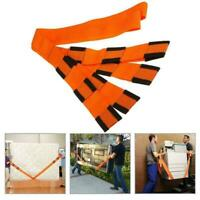 1 Pair Forearm Forklift Lifting And Moving Straps Easily Su Furniture Carry S1Z0