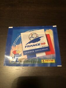 Panini World Cup 1998 Unopened Sticker Packet