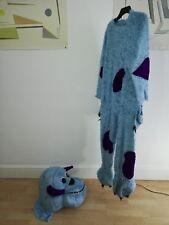 Blue Monster Fancy Dress Costume Fur Fabric