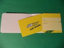 Subway $ 25.00 Gift Card